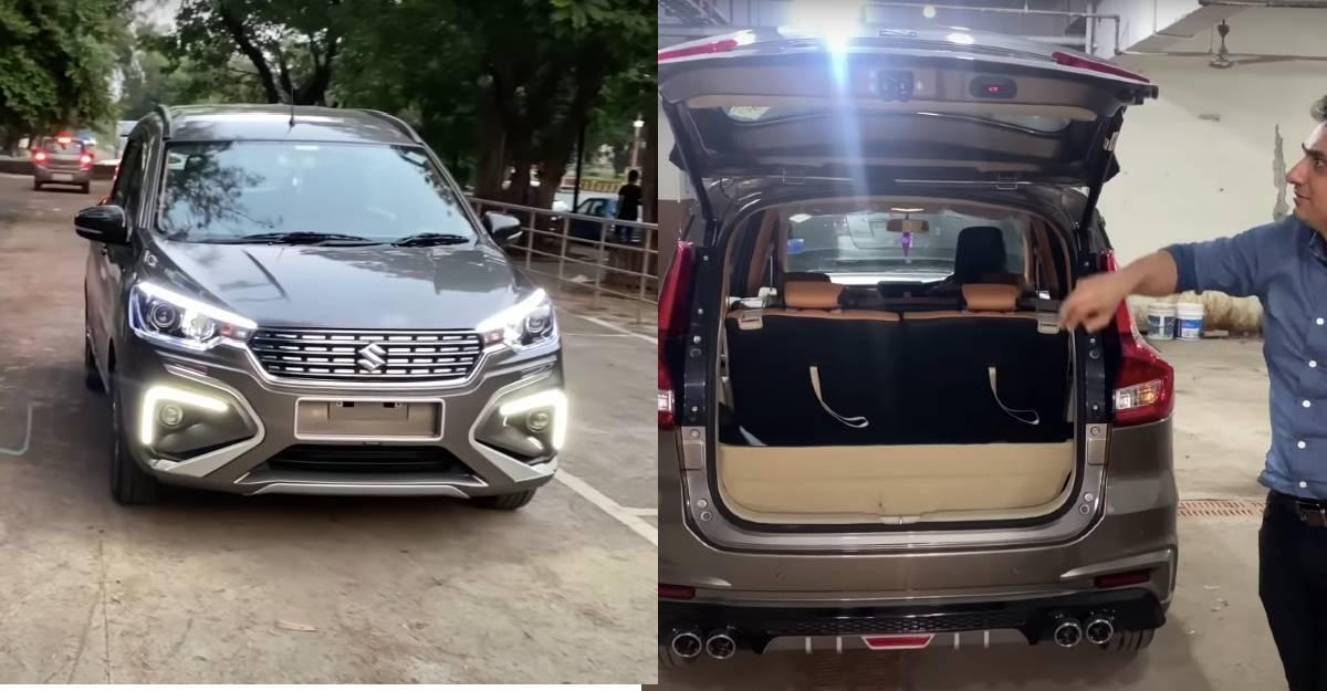 India's first Maruti Ertiga with electric tailgate [Video]
