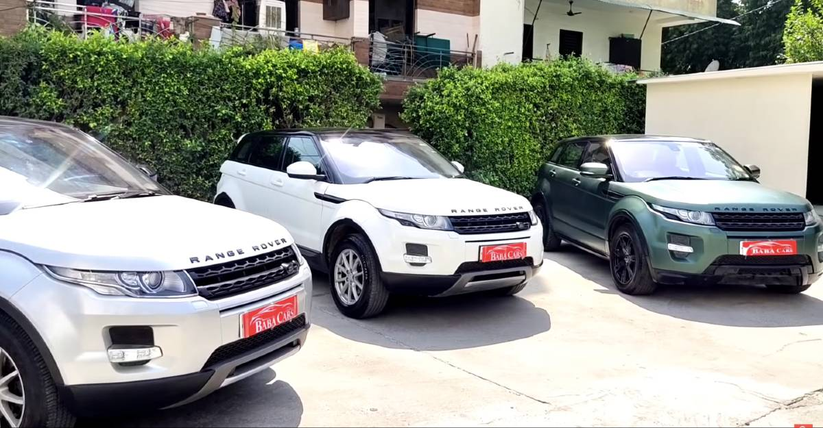 3 well-maintained used Land Rover Range Rover Evoque for sale at 2020 Hyundai Creta prices