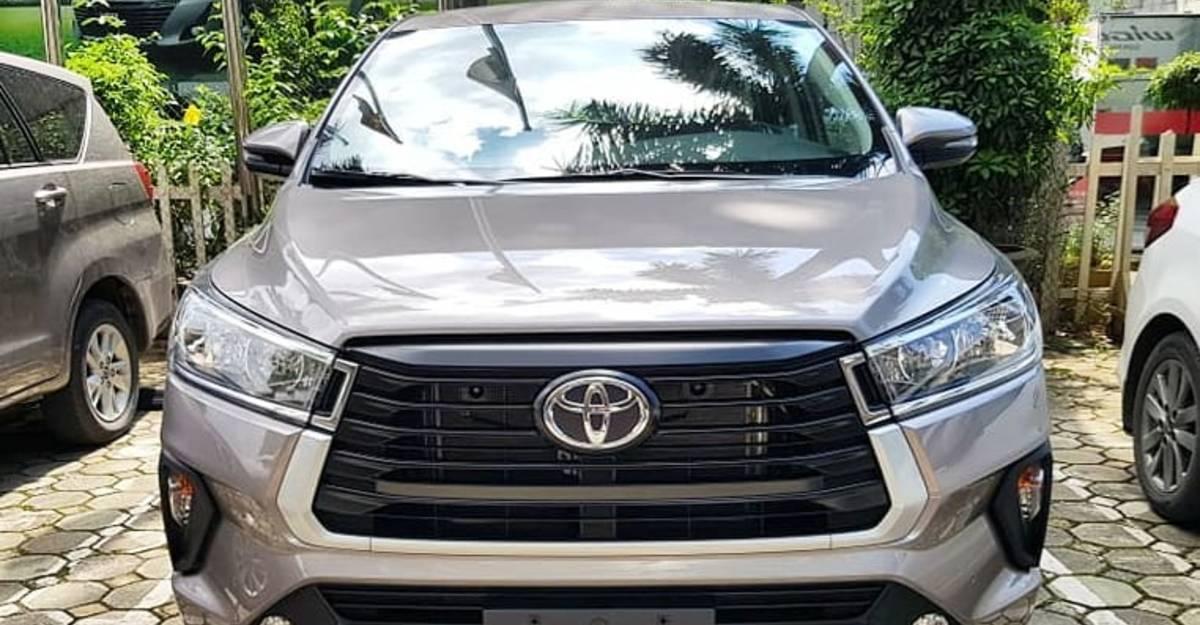 Toyota Innova Crysta Facelift: Officially revealed