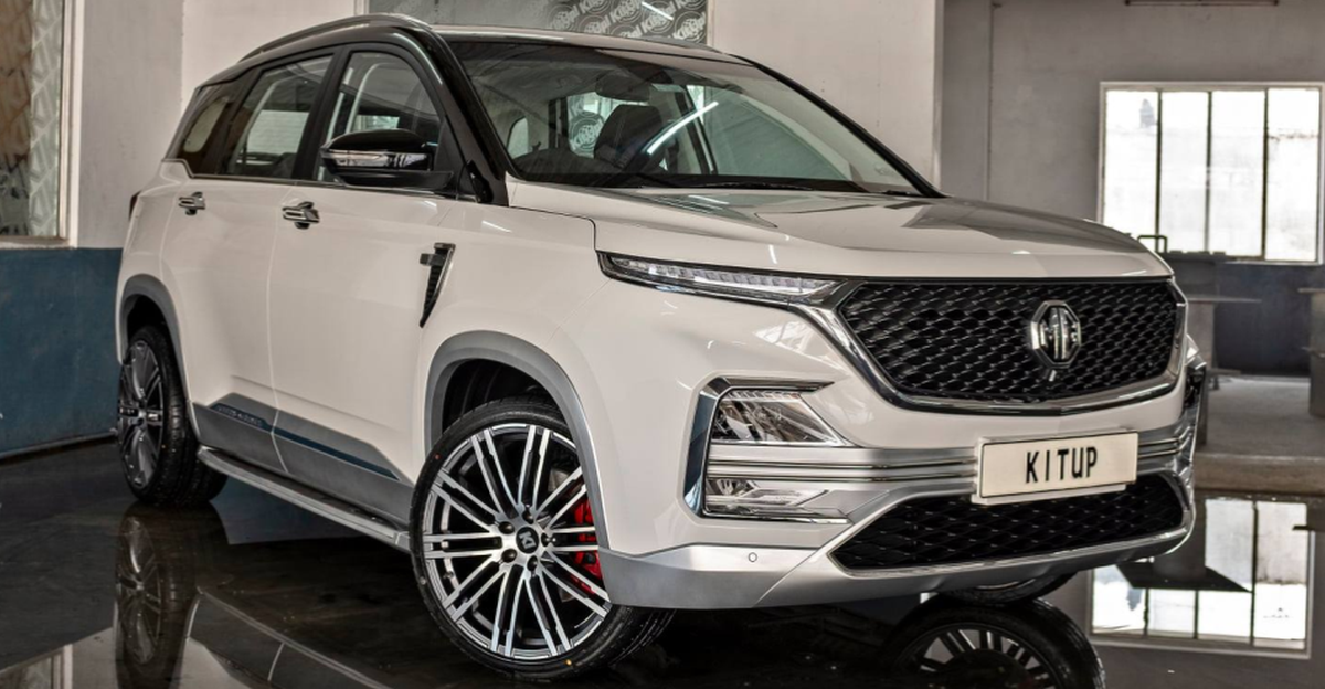 MG Hector tastefully modified by KitUp: In images