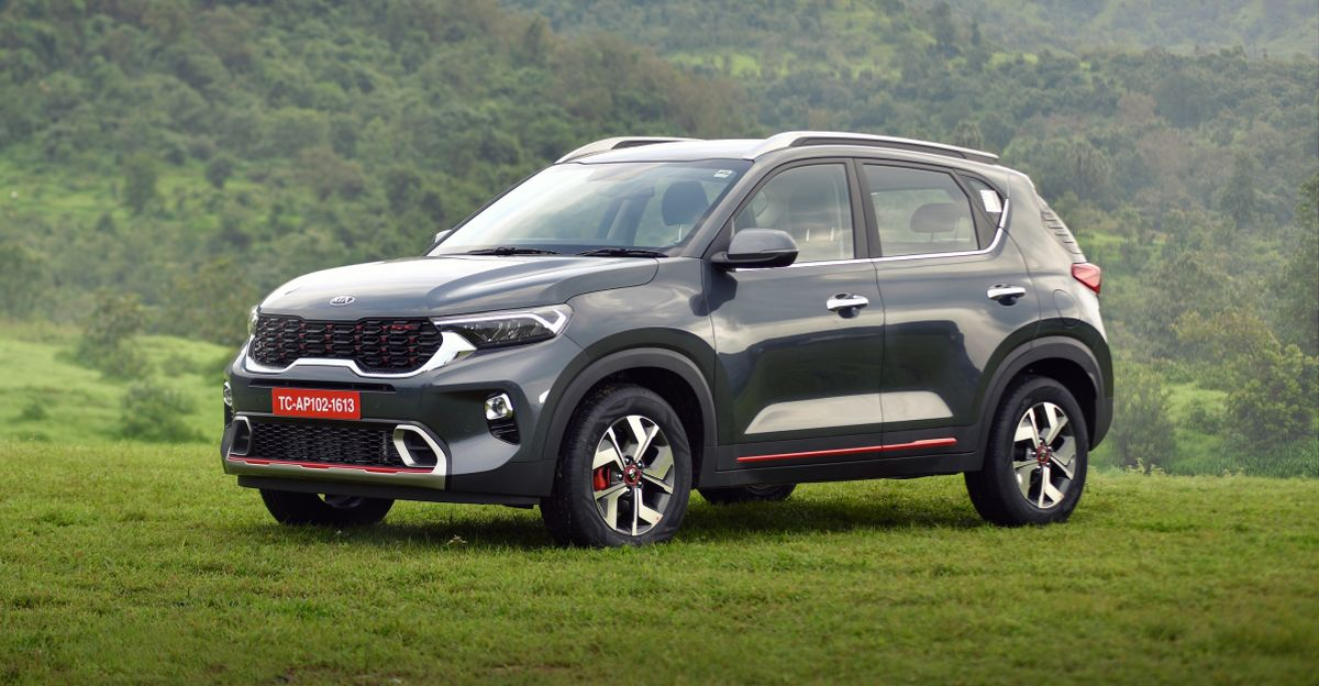 Kia Sonet sub-4 meter compact SUV races past 50,000 bookings in just 2 months