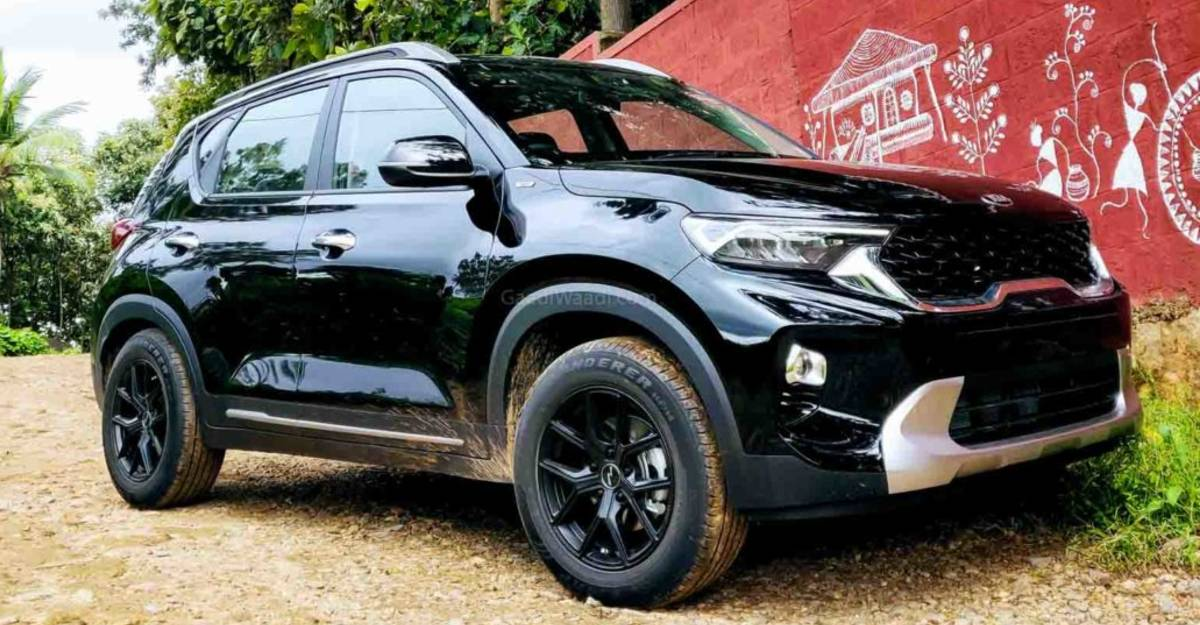 India's first modified Kia Sonet wears tasteful 16 inch alloy wheels