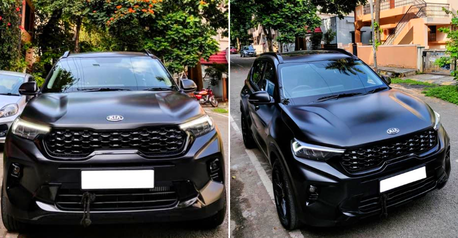 India's first modified Kia Sonet is here, & it looks absolutely RAD: In images