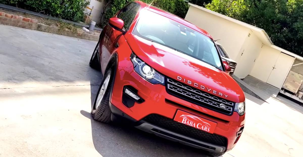 Four-year old used Land Rover Discovery Sport for sale at Jeep Compass prices