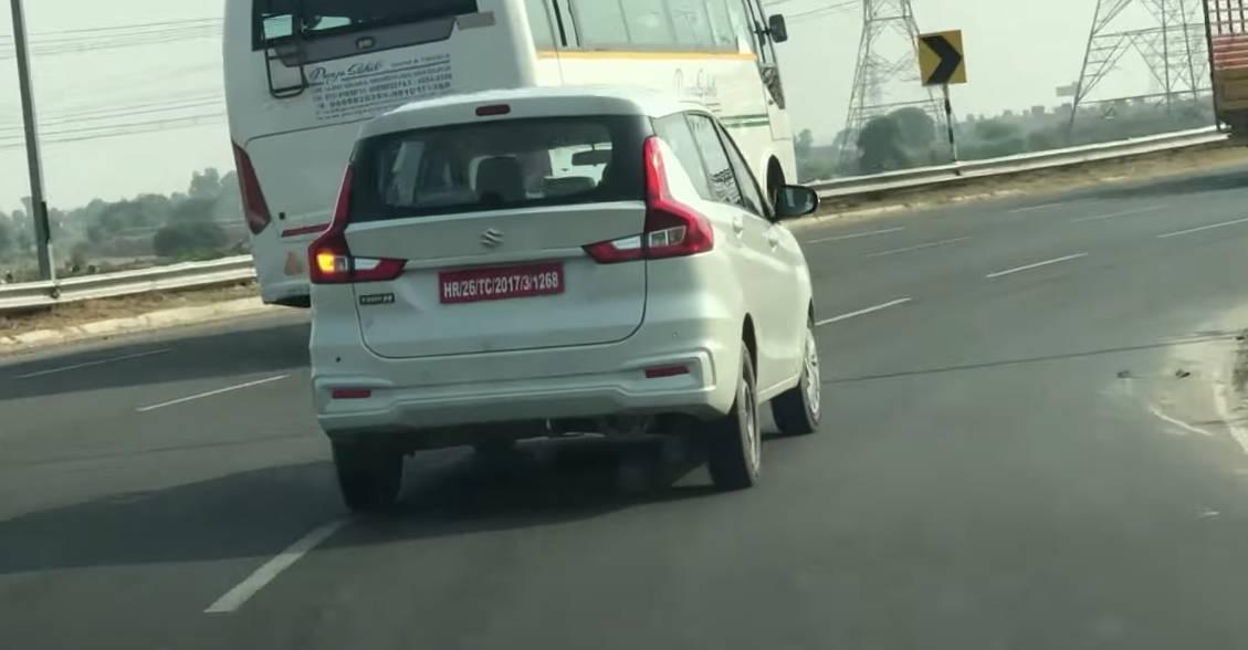 Maruti Ertiga Diesel spied testing: Maruti Diesels could make a comeback [Video]