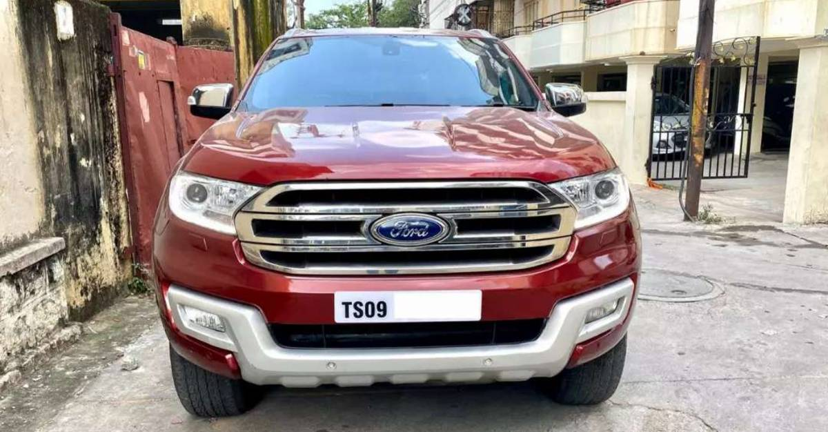 3 used Ford Endeavour luxury SUVs for under 20 lakh