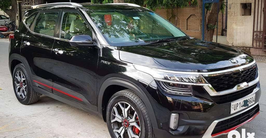 Almost-new used Kia Seltos SUVs for sale