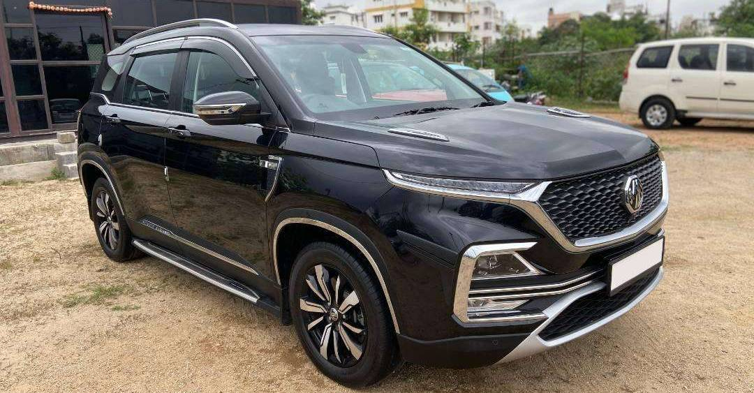 Barely used MG Hector Petrol SUVs for sale
