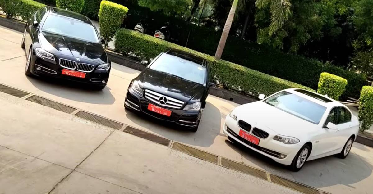 3 luxurious used BMW & Mercedes sedans starting from under Rs 10 lakh