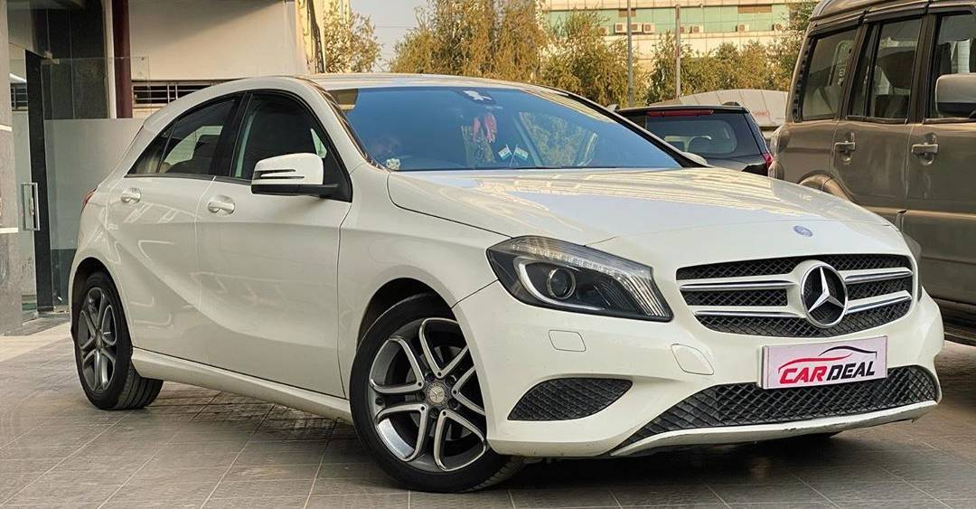 Well-maintained used Mercedes Benz A-Class cheaper than Maruti Baleno