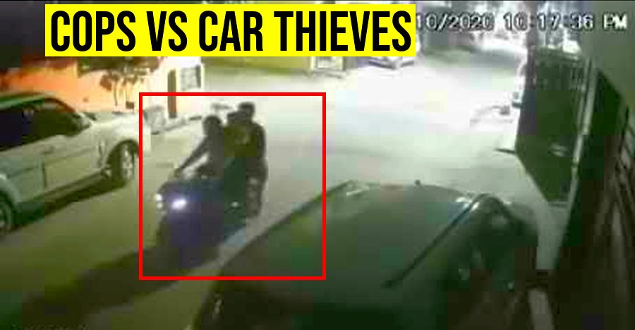 Watch Indian cops BUST a gang of vehicle thieves on video