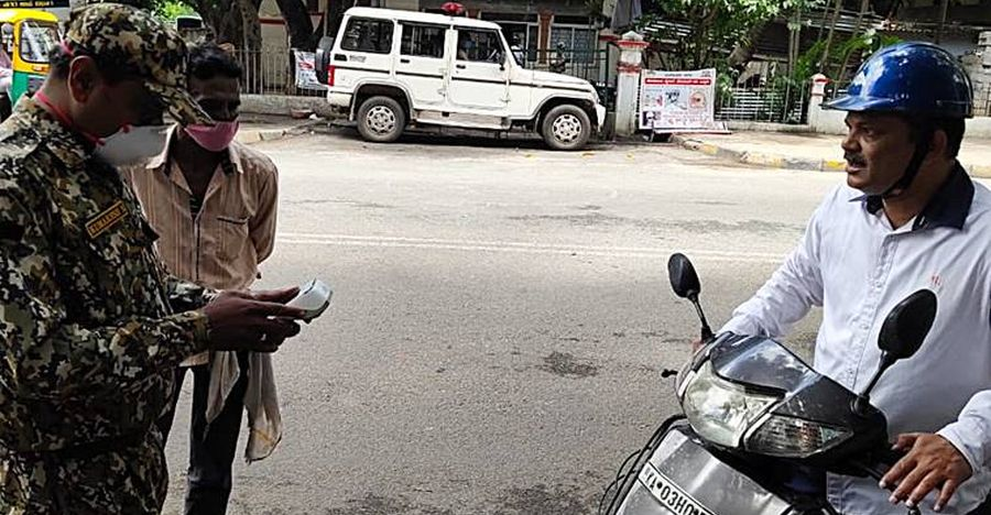 Wear mask even while driving/riding alone, else be prepared to pay fine: BBMP