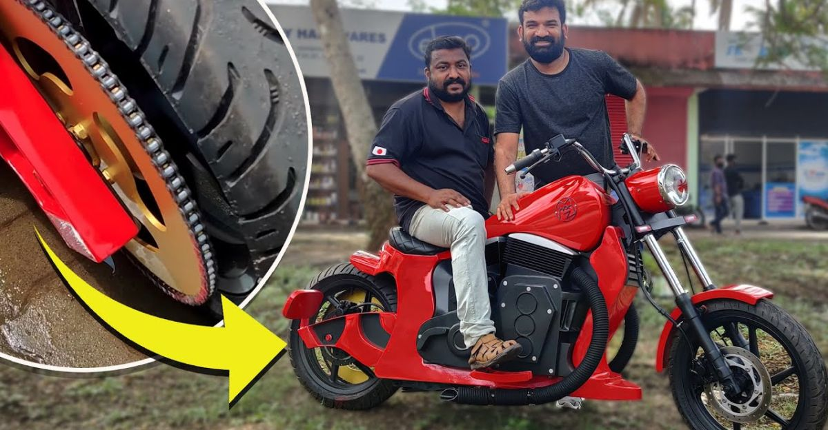 This home-made electric motorcycle took 11 months to build [Video]