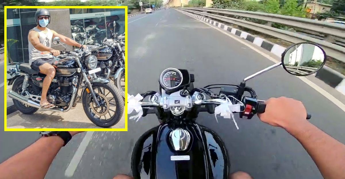 Honda CB 350 H'Ness retro motorcycle: First ride review of Royal Enfield Classic challenger [Video]