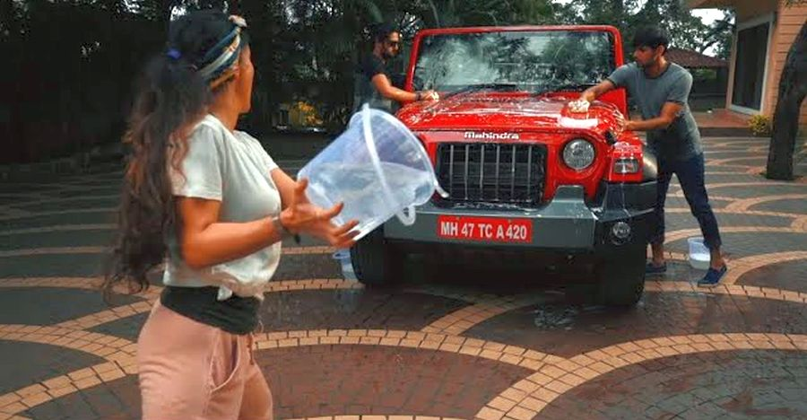 Mahindra shows off the all-new Thar's 'washable interiors' in new TVC