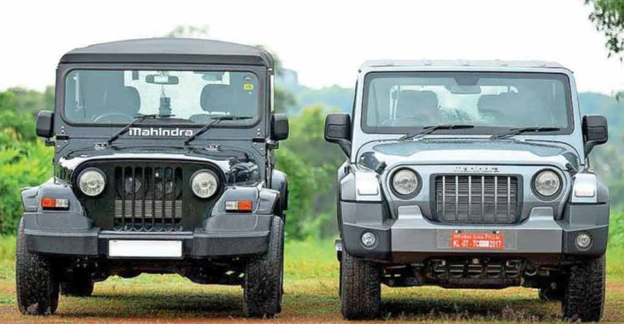 Old Mahindra Thar compared to all-new 2020 Thar: Side by side