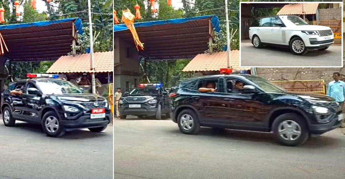 Tata Harrier is now the pilot car of CM Uddhav Thackeray [Video]