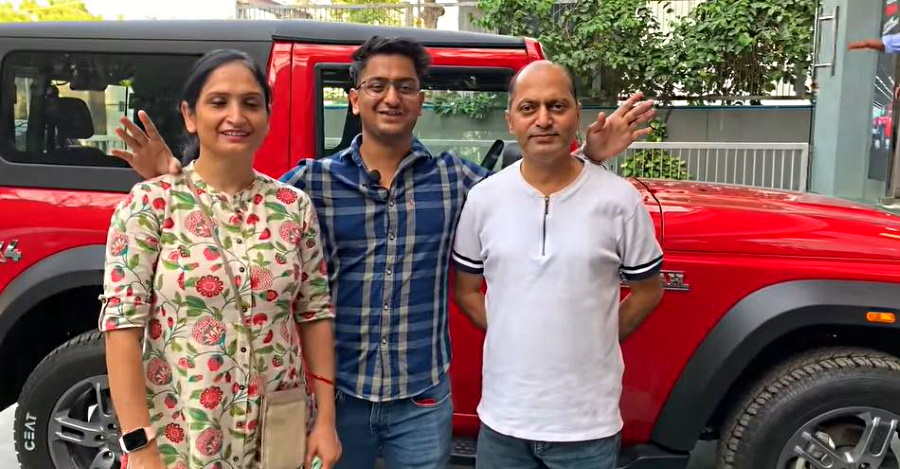All-new 2020 Mahindra Thar as a family car? YouTuber takes parents on a ride to experience [Video]