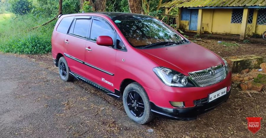 Modified Toyota Innova with DC-style lounge for sale [Video]