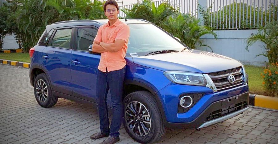 Toyota Urban Cruiser What The Brezza Based Compact Suv Drives Like Video
