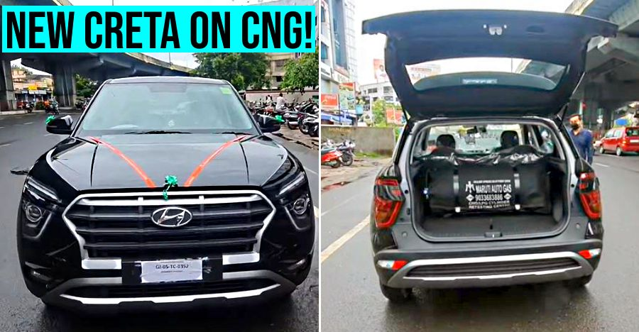 2020 Hyundai Creta with aftermarket CNG kit with super affordable running costs