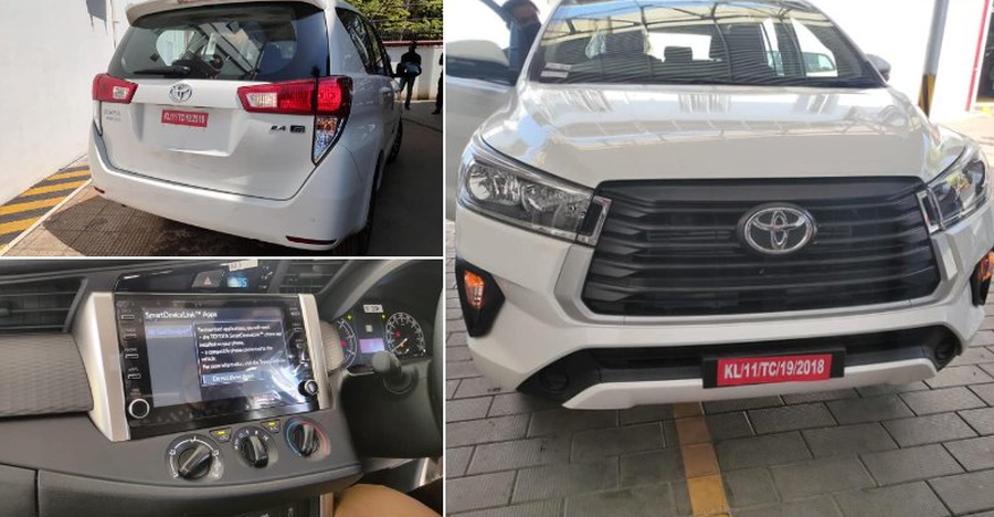 Toyota Innova Facelift arrives at dealerships before official launch