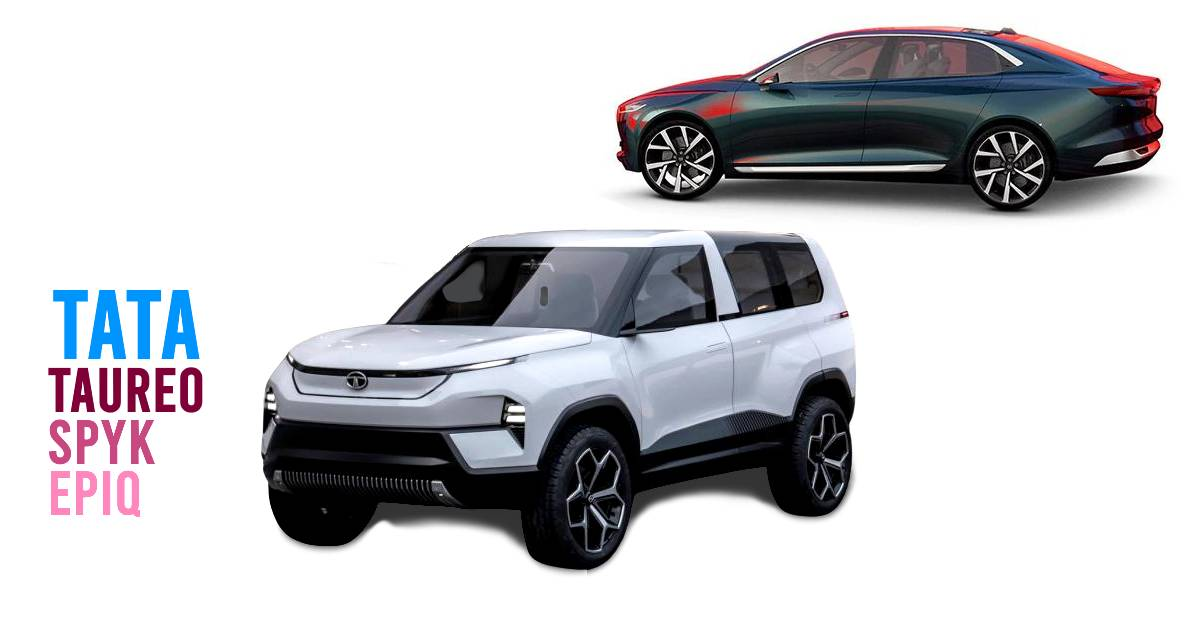 Tata registers Taureo, Spyk and Epiq trademarks for future cars
