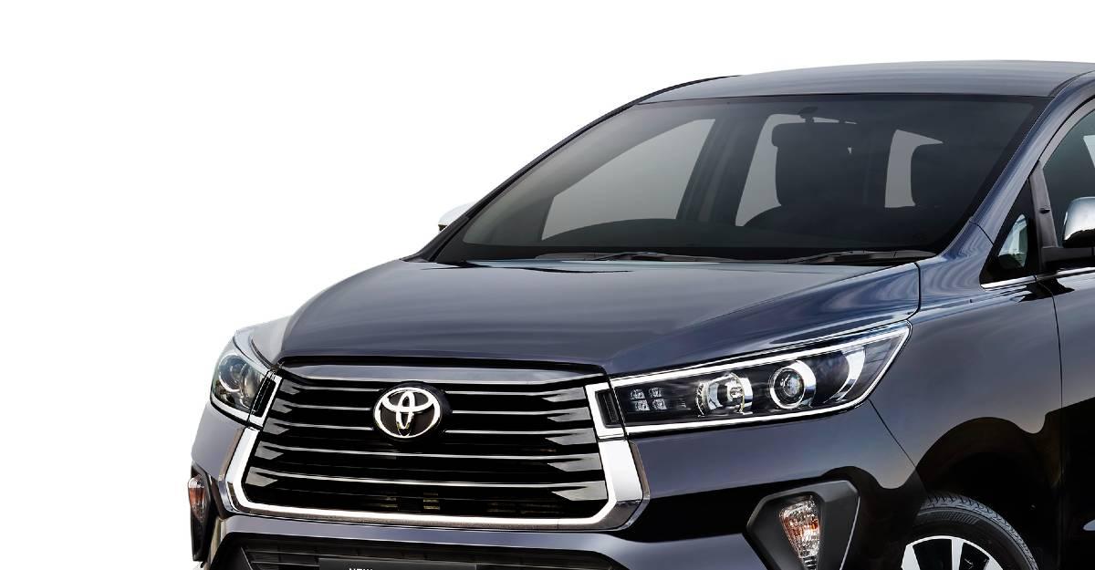 Toyota Innova Crysta Facelift: Variants explained