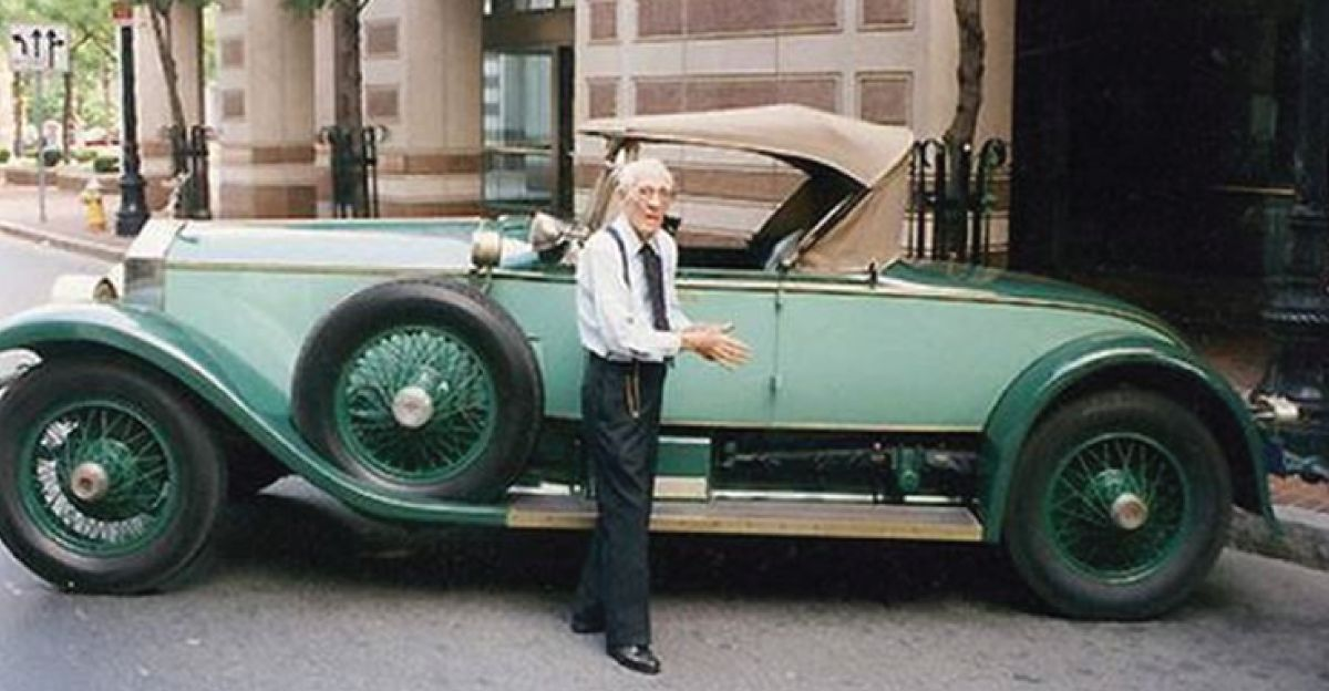 He owned a Rolls Royce for 77 years, 2.75 lakh km without a single breakdown!