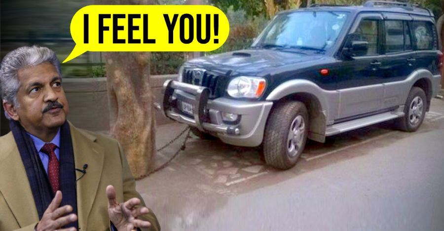Anand Mahindra's 'Chained Scorpio' tweet sums up his feelings during lockdown