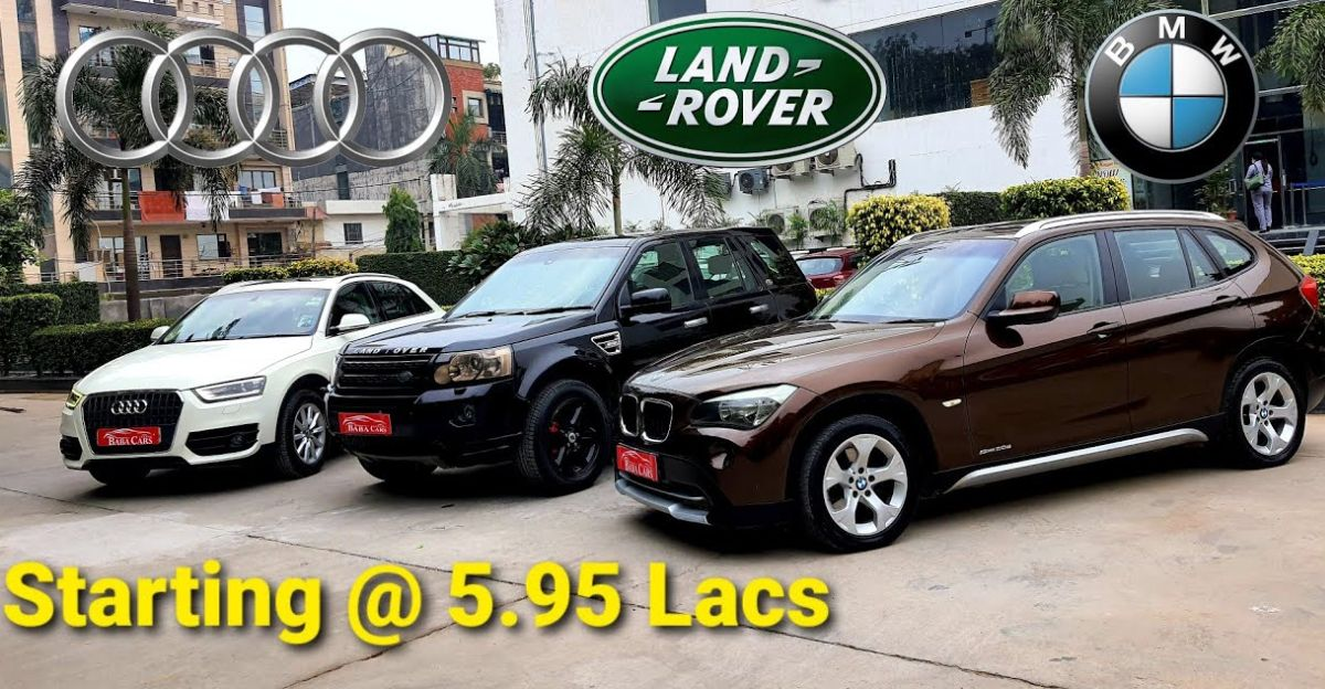 Used Audi Bmw Land Rover Luxury Suvs Starting From Just Rs 5 95 Lakh