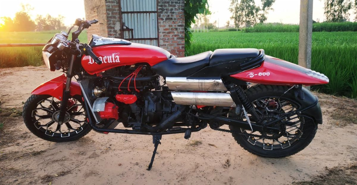 Engineering students' homemade superbike with Maruti 800 engine can do 220 Kph