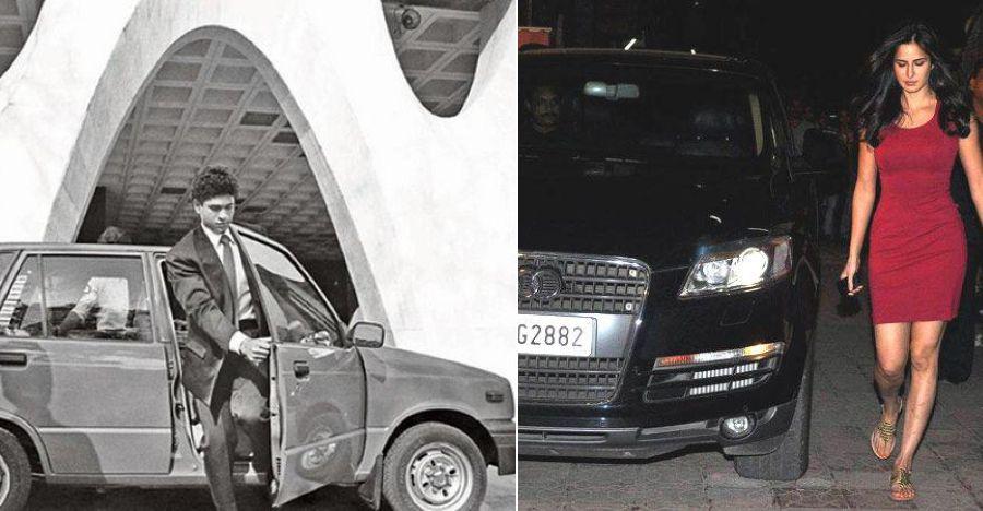 Famous Indians & their first cars: Sachin Tendulkar's Maruti 800 to Katrina Kaif's Audi Q7
