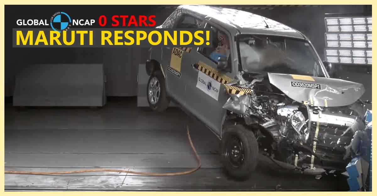 Global NCAP gives S-Presso a zero star rating: Maruti Suzuki responds!