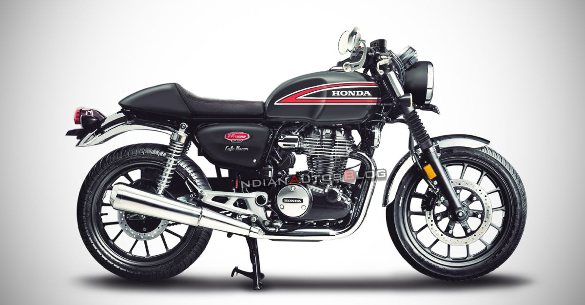 Honda CB350 H'Ness: What it'll look like as a cafe racer