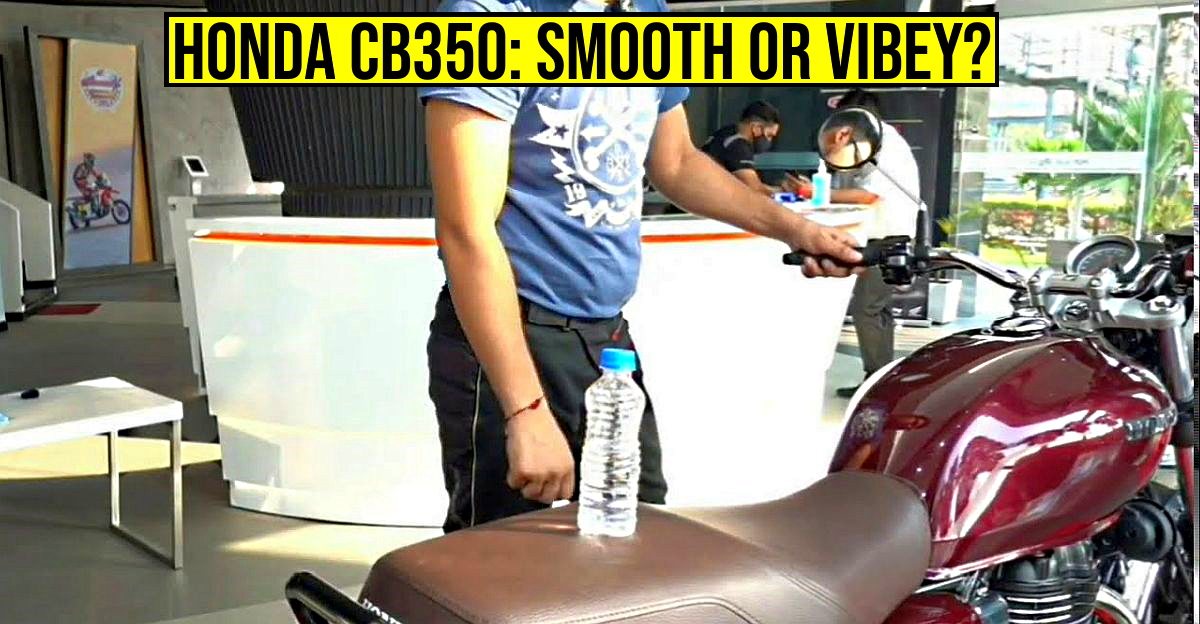 Honda CB350 H'Ness vibration test: Does it vibrate more than a Royal Enfield Classic 350? [Video]