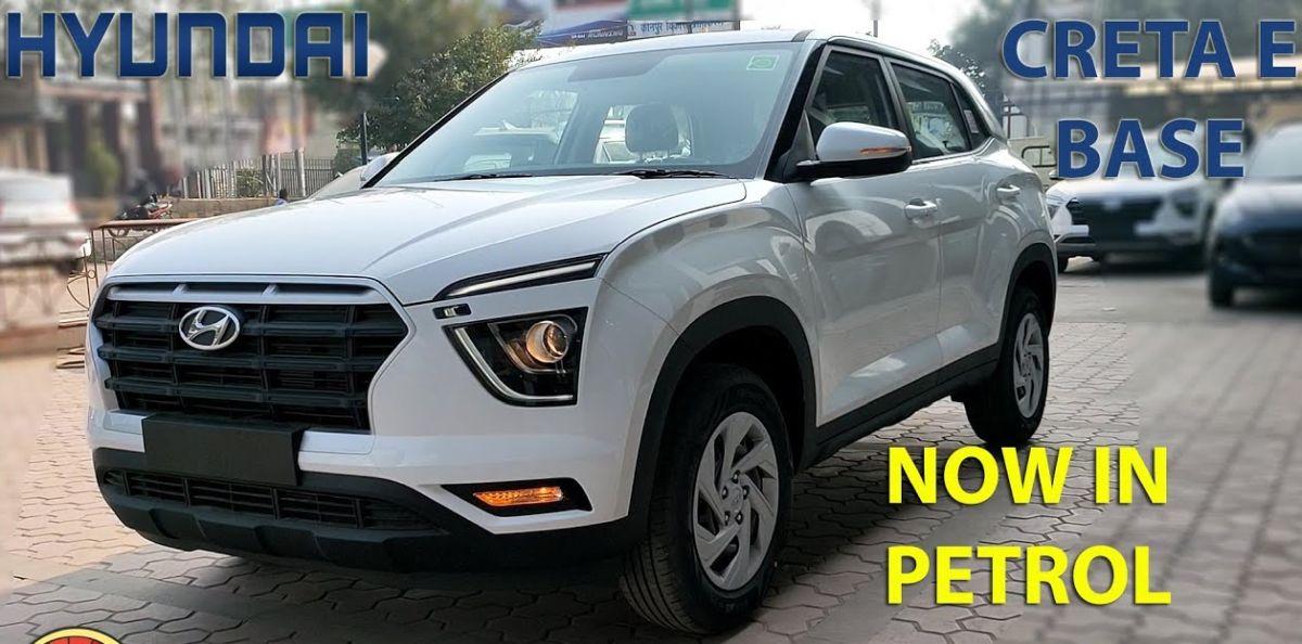 Most affordable Hyundai Creta variant detailed: 1.5 E Petrol Trim