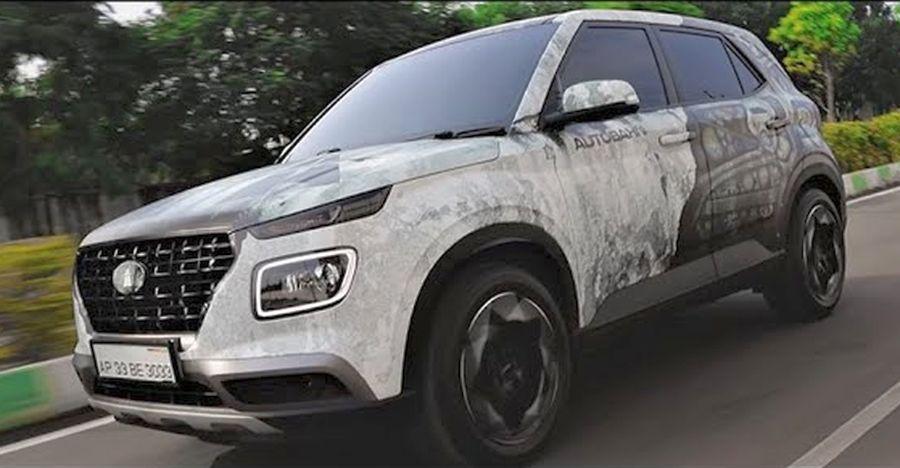 India's first Hyundai Venue with Terminator Wrap