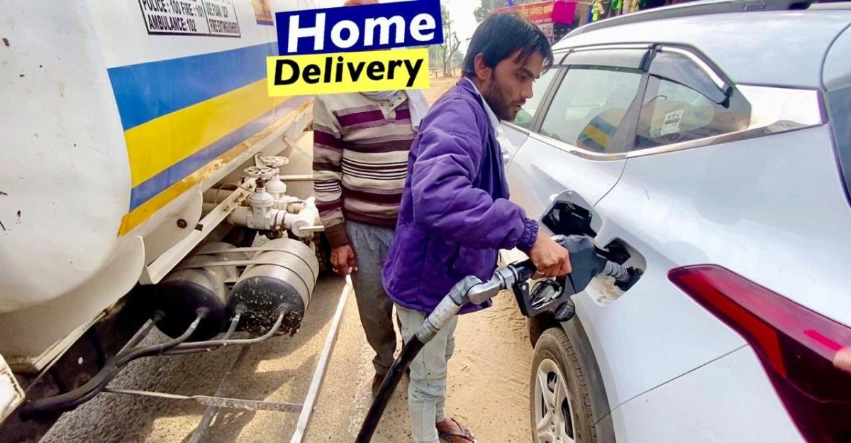 Kia Seltos gets refueled at home through 'Home Delivery of Fuel' scheme