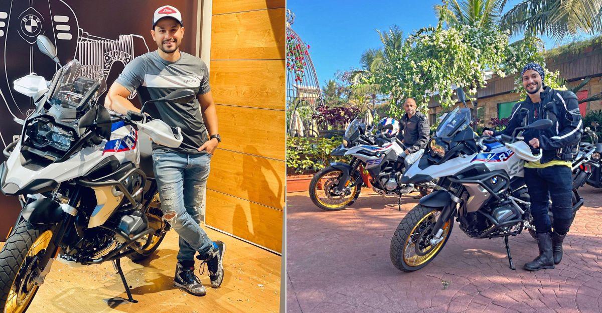 Bollywood Actor Kunal Khemu buys a BMW R1250 GS adventure superbike