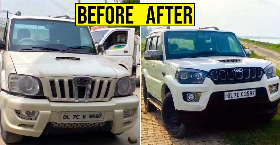 Watch how a 2009 model Mahindra Scorpio gets converted into a 2020 version [Video]