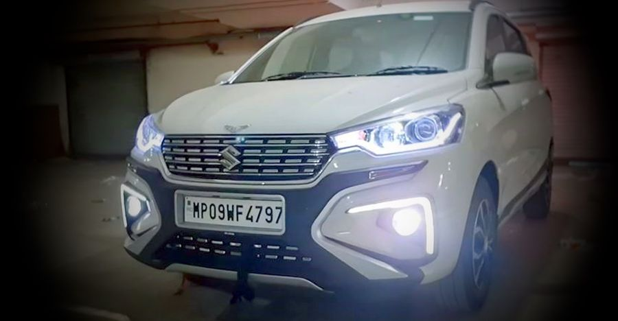 Maruti Suzuki Ertiga modified with luxurious features
