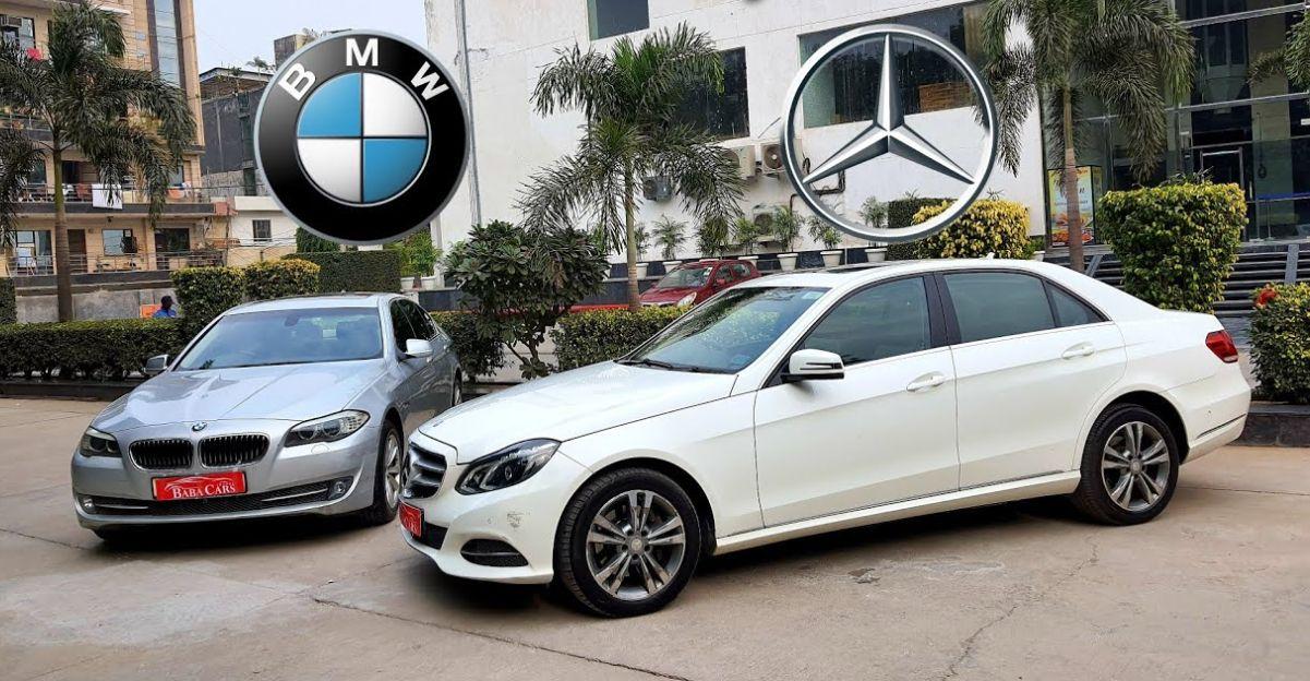 Well kept used Audi, BMW & Mercedes luxury sedans starting at 10 lakh
