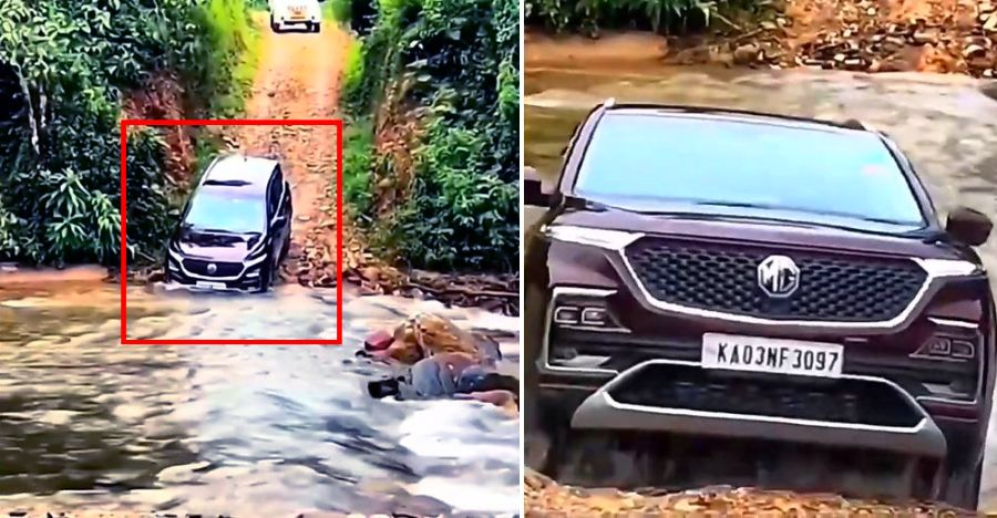 MG Hector goes off roading: How much can it handle? [Video]