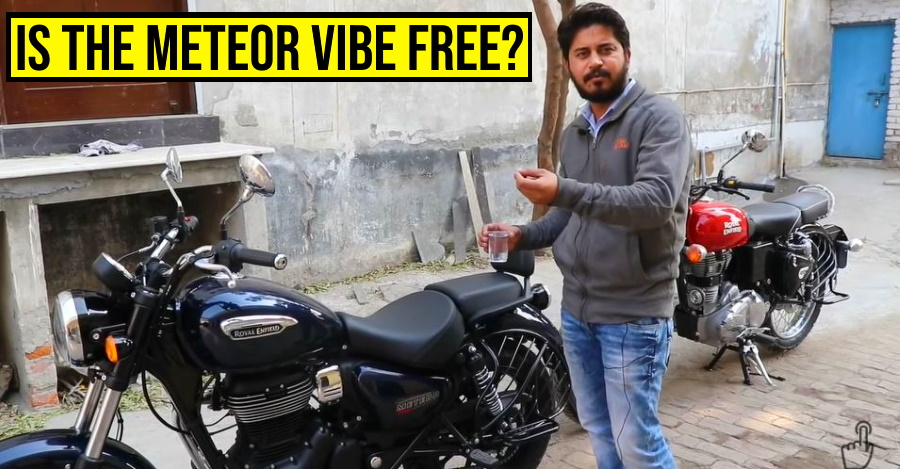 Royal Enfield Meteor 350 vs Classic 350 in a 'vibration test' [Video]