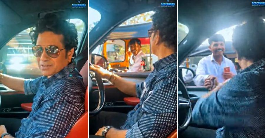 Sachin Tendulkar in a BMW X5M loses his way: Auto driver guides him to the right road