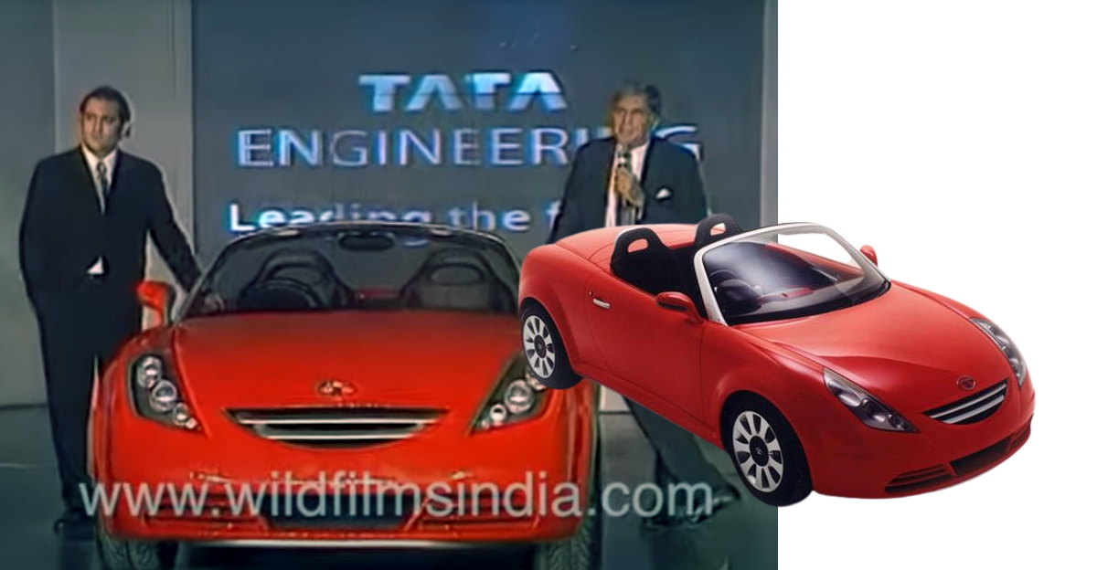 Blast from the past: Ratan Tata shows off Aria concept car on video