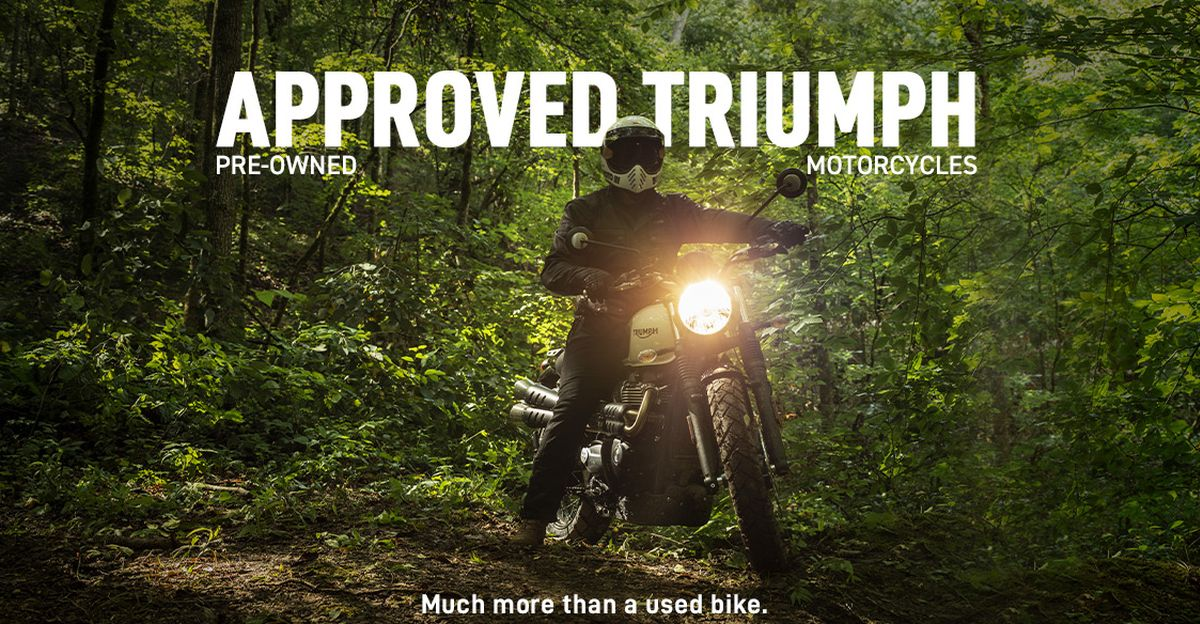 Triumph begins selling pre-owned motorcycles in India through 'Approved Triumph' program