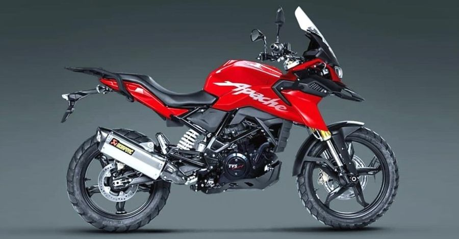TVS Apache RR 310-based adventure bike for India: What it could look like