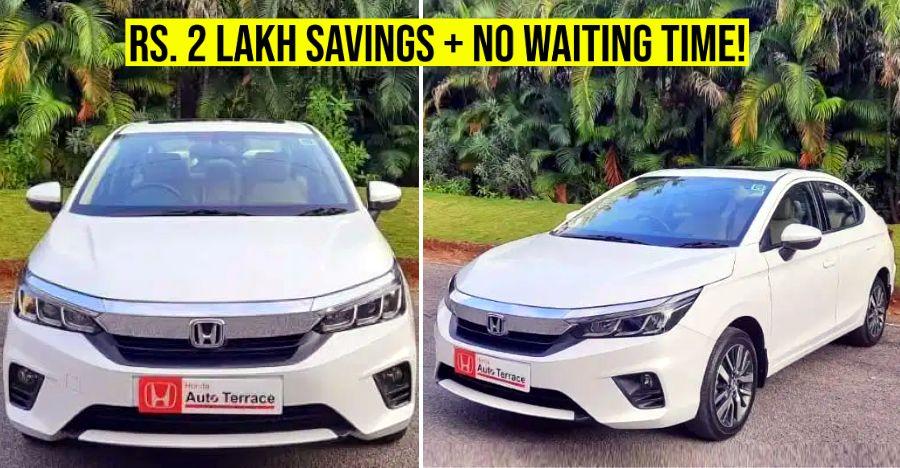All-new 5th gen Honda City sedan hits the used car market in India
